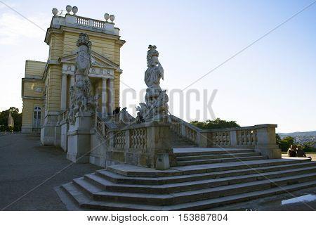 Schonbrunn main summer residence of the Austrian Habsburg emperors, Vienna, Austria