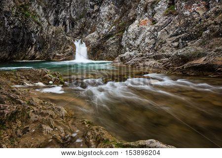 Sini Vir waterfall, near the village of Medven, Bulgaria