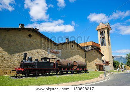 Bodegas Muga In Haro, La Rioja, Spain