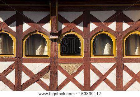 Architecture of Treguier Cotes d´armor Bretagne France