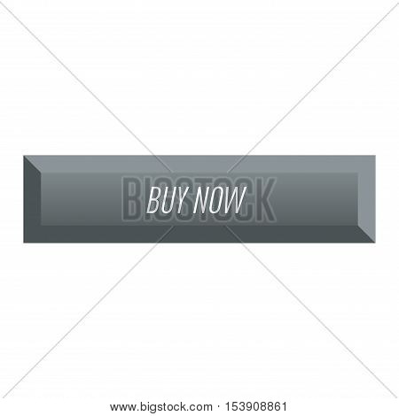 Web element site button and vector shop button isolated. Design sign element button and label ui ux design. Web site button graphic