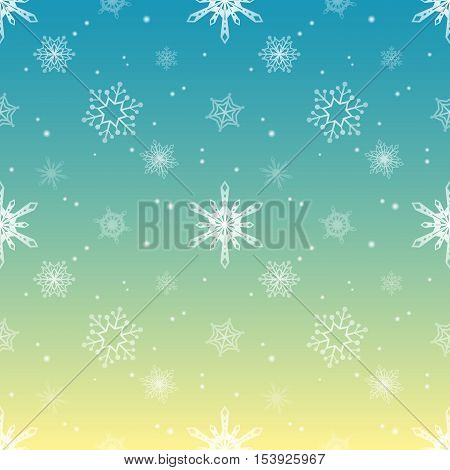 snowflake gradient sky tropical colour background christmas pattern tint layer wallpaper