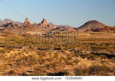 Chisos Mountains Landscape, Big Bend National Park, Texas