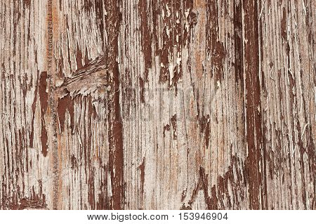 texture, old chipped paint on wood, the impact of weather to paint a wooden house
