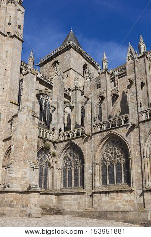 Cathedral of Treguier Cotes d´armor Bretagne France
