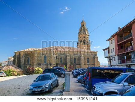 Saint Thomas Church In Haro, La Rioja, Spain