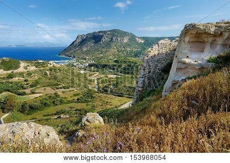 Bay Of Kefalos On A Greek Island Of Kos