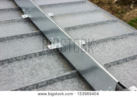 The Barrier For Snow Retention On Thel Roof