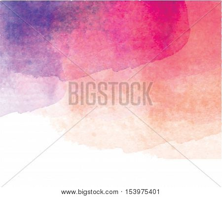 Watercolor pink. background. Stains watercolor paint. Free design. Watercolor talking bubbles. To design and decor backgrounds, banners, flyers
