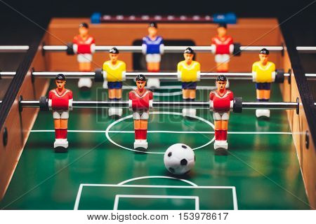 table football soccer game (kicker)