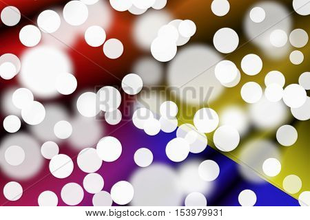 bokeh abstract  beautifu  for background and space for add text