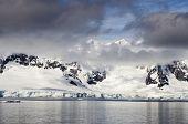 Antarctica - Antarctic Peninsula - Palmer Archipelago - Neumayer Channel - Global warming - Fairytale landscape poster