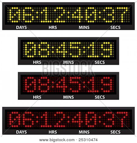 countdown timer (all numbers available)