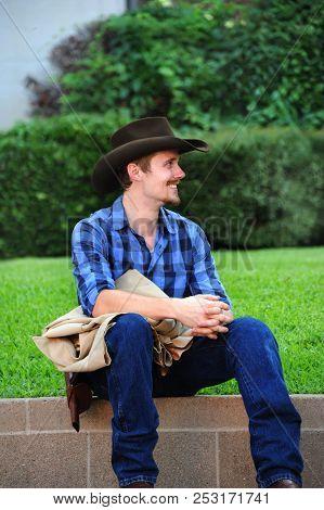 Cowboy In Profile