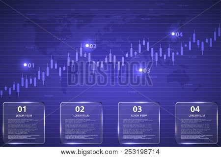 Business Candle Stick Chart Of Stock Market Investment Investment.economic Business Idea For Your De