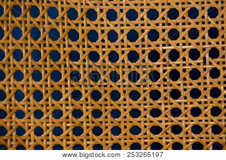 Geometric Basketwork Seamless Pattern Stylish Texture With Repeating Straight Lines Background