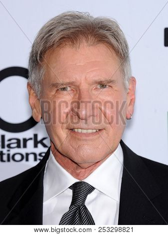 LOS ANGELES - OCT 22:  Harrison Ford arrives to the Hollywood Film Awards Gala 2013  on October 22, 2013 in Hollywood, CA