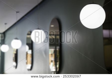 Vintage Style Of Hanging Light Pendant, Stock Photo