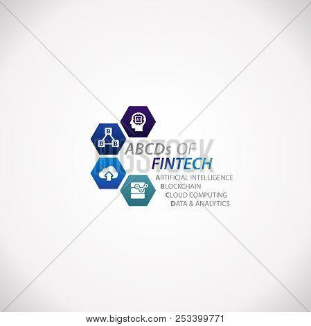 Abcds Of Fintech Financial Technology Business Service Design Infographic