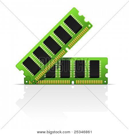 Computerspeicher Symbol