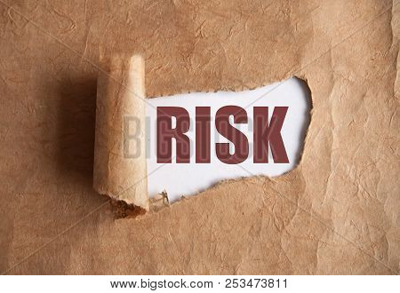 Torn Piece Of Scroll Uncovering The Word Risk