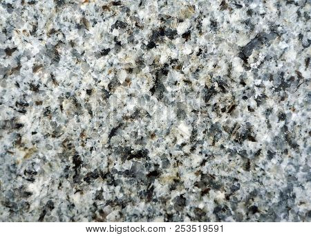 Texture Of Geologic Stone Granite Close - Up, Natural Background