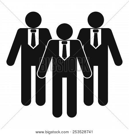 Board Directors Icon. Simple Illustration Of Board Directors  Icon For Web