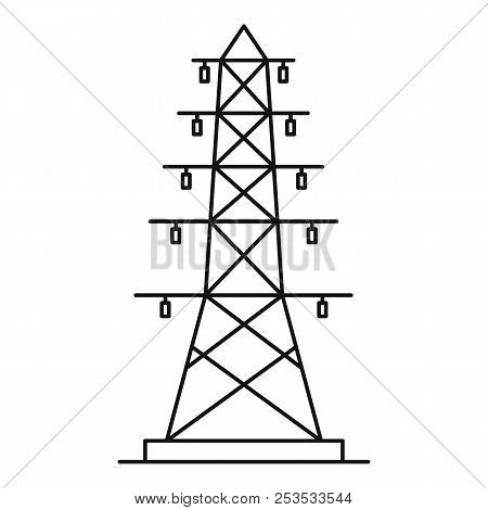 Electric Pole Icon Image Photo Free Trial