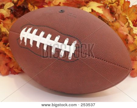 Football & Leaves
