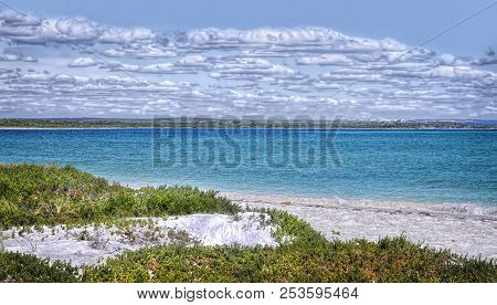 The Beautiful Blue Water Of The Coast In Albany Western Australia