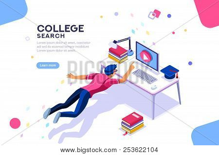 Tutorial Infographic, Graduation, E-learning Research, University Exam, College Research, Online Cou