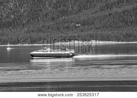 Vessel, Water Transport Transportation In Alaska. Vessel, Water Transport, Transportation In Alaska.