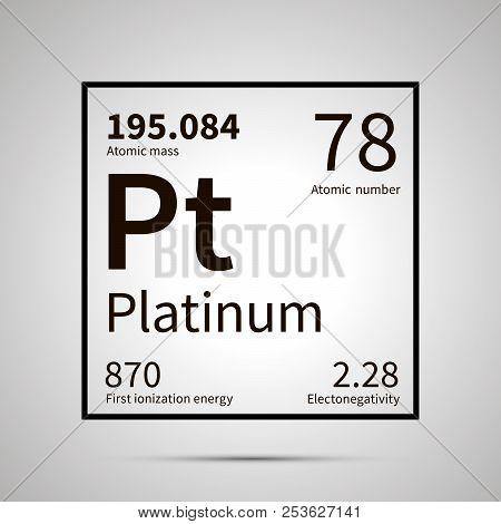 Platinum Chemical Vector Photo Free Trial Bigstock