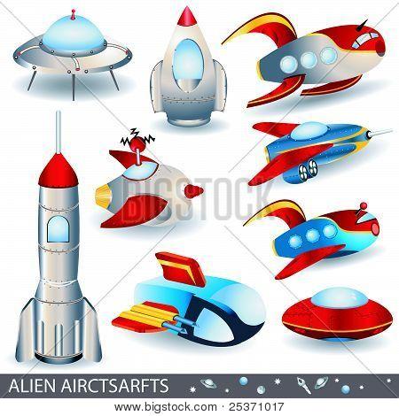 Alien Aircrafts
