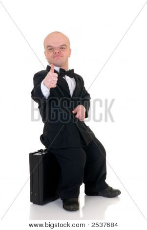 Dwarf, Little Businessman