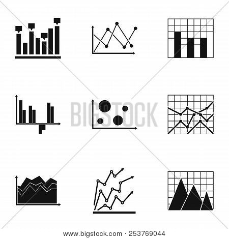 Spreadsheet Icons Set. Simple Set Of 9 Spreadsheet Icons For Web Isolated On White Background