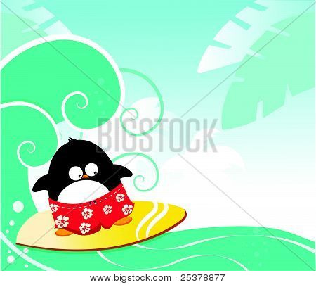 Surf Penguin