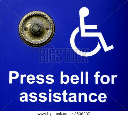 Bell For Disabled To Get Help