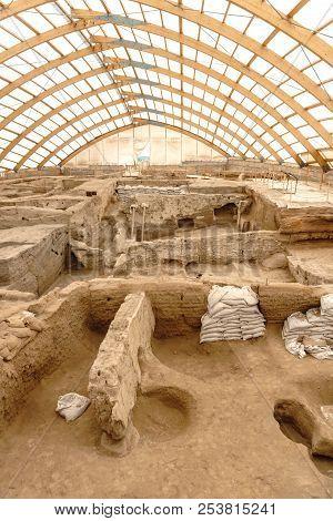 Catalhoyuk Oldest Town In World