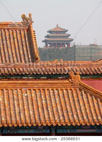 Verbotene Stadt in Peking