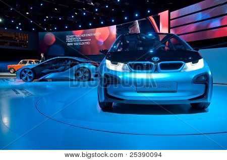 Bmw I3 And I8 Concept Cars