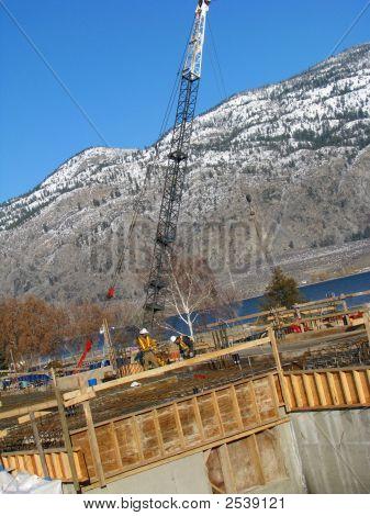 Building By Crane