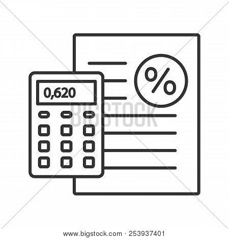 percentage calculator vector photo free trial bigstock