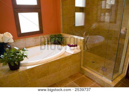 Luxury Home Bathroom.