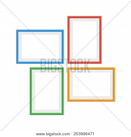 Set Colorful Wooden Vector & Photo (Free Trial) | Bigstock