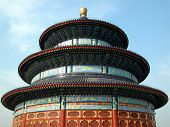 September 2007, The Temple of Heaven (tian tan) in Beijing, China. poster