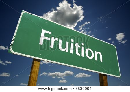Fruition Road Sign