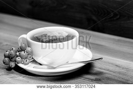 Herbal Tea. Ceramic Cup Hot Fresh Brewed Tea Beverage. Cafe Menu. Health Care Folk Remedies. Drink A