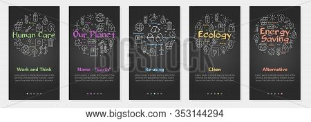 Vertical Banners Ecology And Alternative Energy Sources - 04
