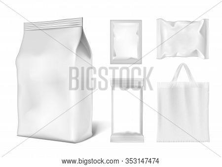 Bag, Foil Doypack, Sachet Pouch Products Pack Set